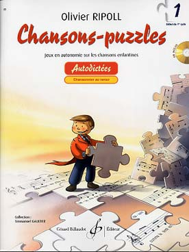 Olivier RIPOLL Chansons-Puzzles vol.1 + CD