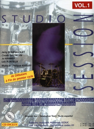 Studio session vol.1 + CD