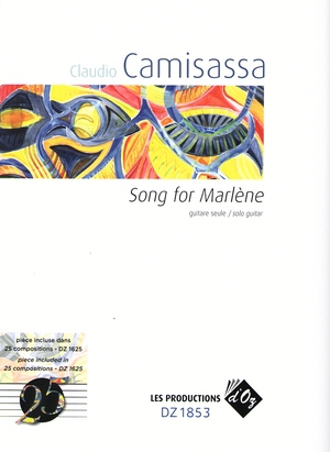 Claudio CAMISASSA Song for Marlène