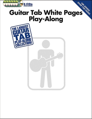 Guitar Tab White Pages Play-Along TAB + 6 CD's