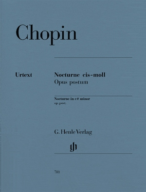 CHOPIN Nocturne C# mineur op. posthume Urtext