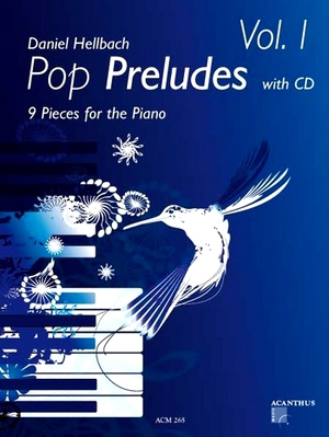 Daniel HELLBACH Pop Preludes vol.1 + CD