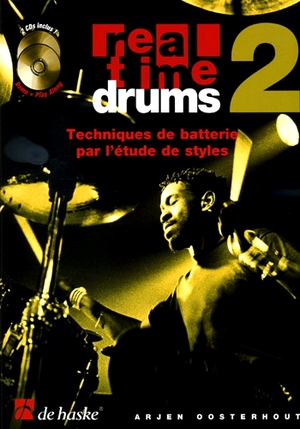 Arjen OOSTERHOUT Real Time Drums 2 + CD