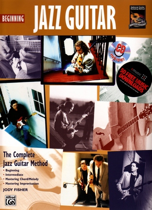 Jody FISHER Beginning Jazz Guitar + CD