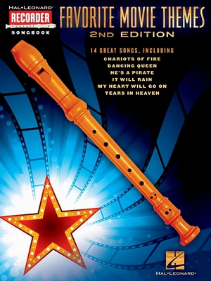 Favorite Movie Themes Recorder Songbook