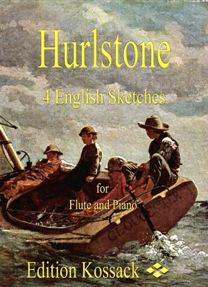 William Y. HURLSTONE 4 English Sketches