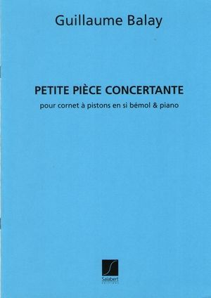 Guillaume BALAY Petite pièce concertante