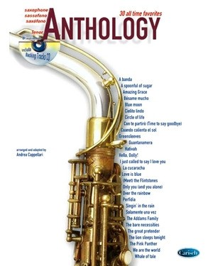 Andrea CAPELLARI Anthology Saxophone Ténor + CD