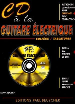 Tony MARCH CD à la guitare éléctrique
