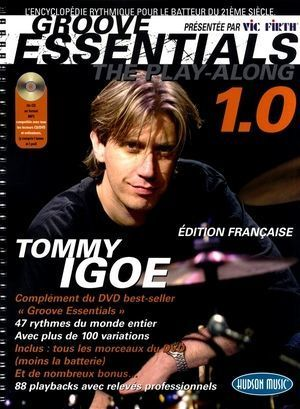 Tommy IGOE Groove Essentials 1.0 - The Play-Along (French Edition) + CD