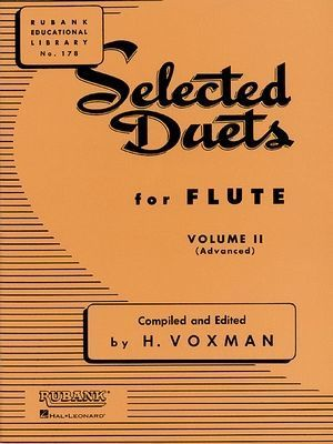 H. VOXMAN Selected Duets For Flûte vol.2