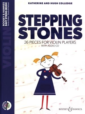 Katherine & Hugh COLLEDGE Stepping Stones Violon & Piano