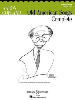 Aaron COLPLAND Old American Songs Complete (Medium Voice)