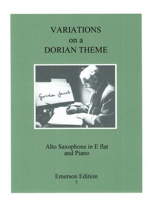Gordon JACOB Variations On A Dorian Theme