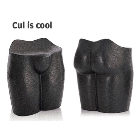 Tabouret cul is cool