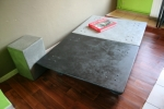 Table basse design beton