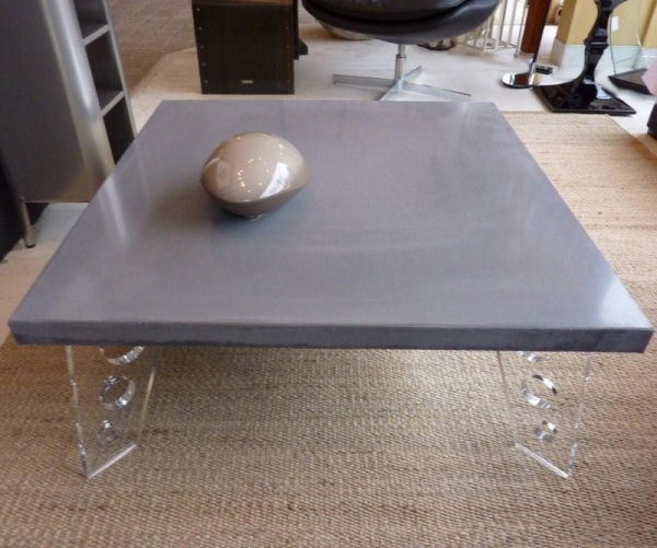 Table beton ring