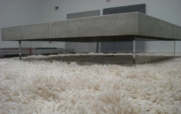 Table beton loft