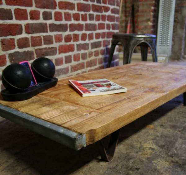 table de salon bois
