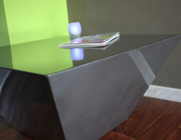 Table basse foudre