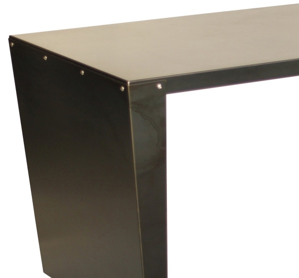 Bureau m tal fonc meuble m tal for Meuble bureau metal