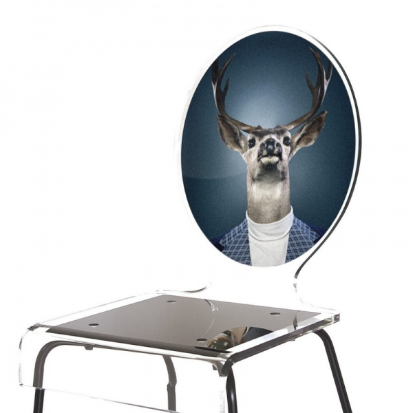 chaise cerf