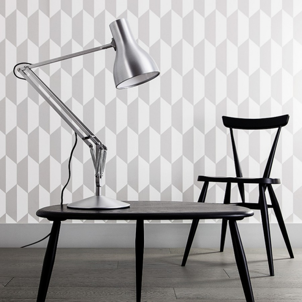 Lampe Anglepoise Type75 crème