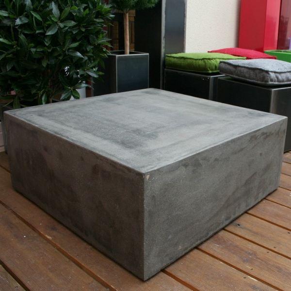 table basse beton cube table basse design table basse b ton. Black Bedroom Furniture Sets. Home Design Ideas