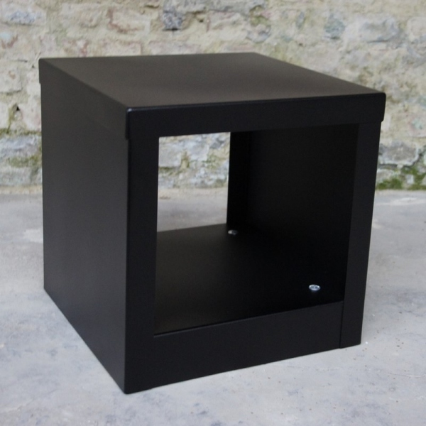 Table basse cube couleur