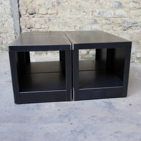 Table basse cube couleur table basse design table - Cube table basse ...