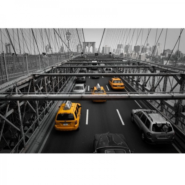 Photographie yellow cabs