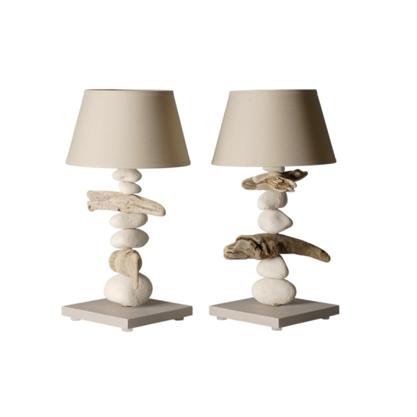 Lampe de chevet bois flott lampe bois flott for Lampe de chevet london