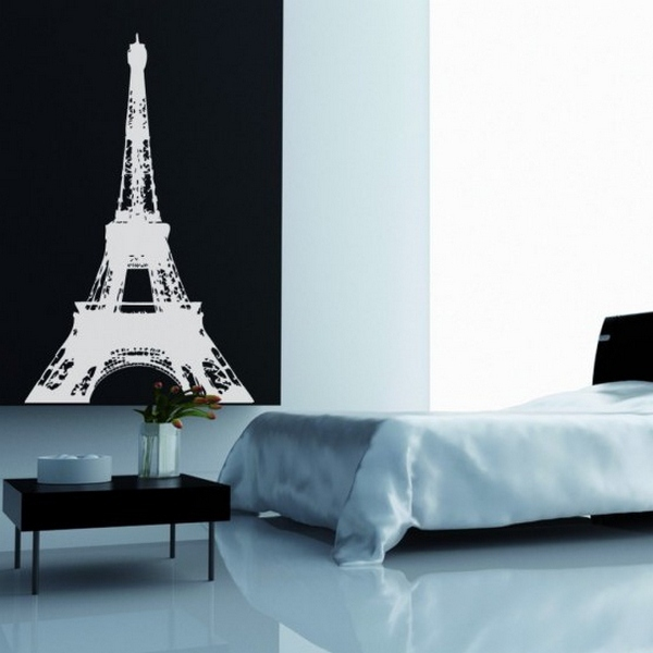 Stickers tour eiffel stickers design loftboutik for Stickers tour eiffel chambre