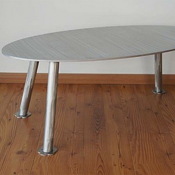 Table basse aluminium