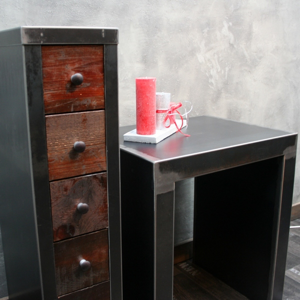 table loft industrielle