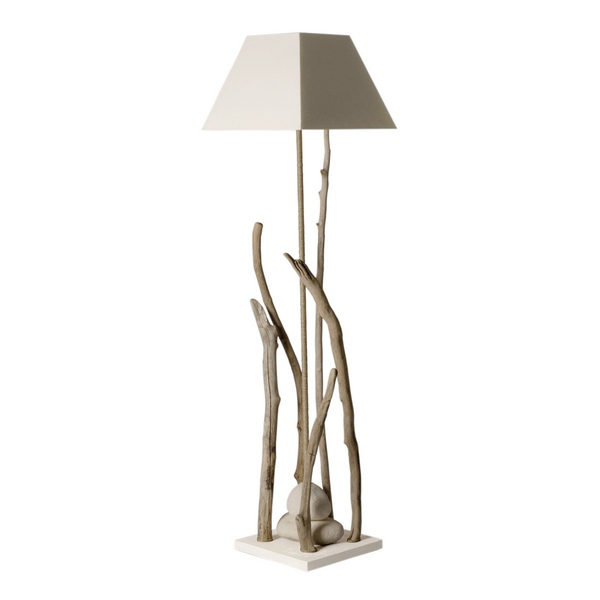 Lampe bois flott lampe design d co loft for Lampe design bois flotte