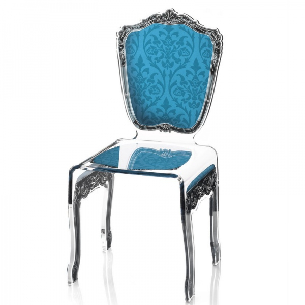 chaise baroque design