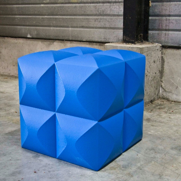 Pouf design bench