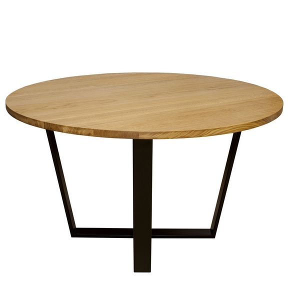 Table ronde design scandinave