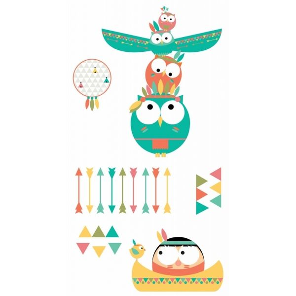 Sticker enfant indien