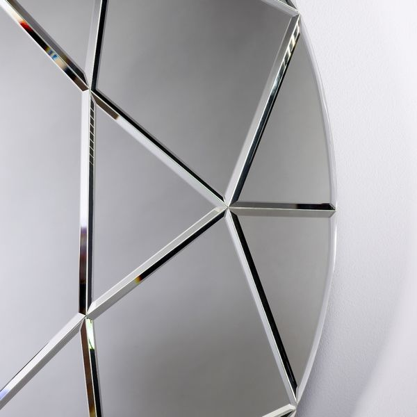Miroir design diamant