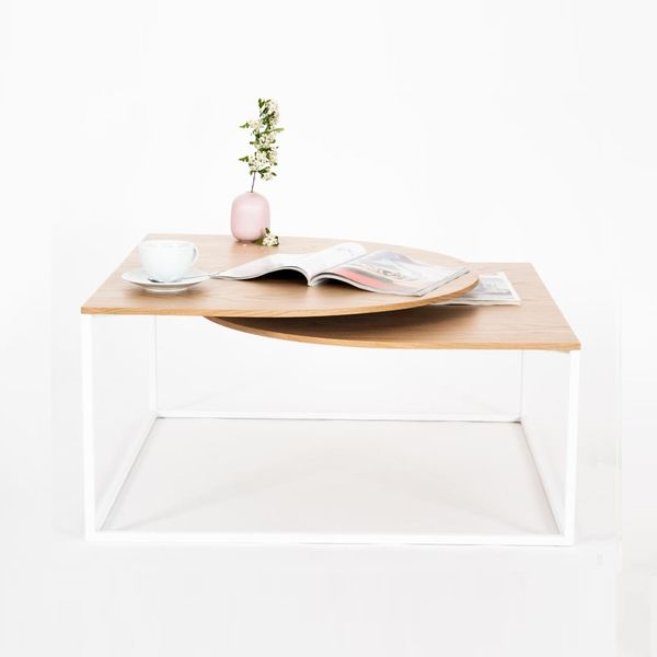 Table basse bois design