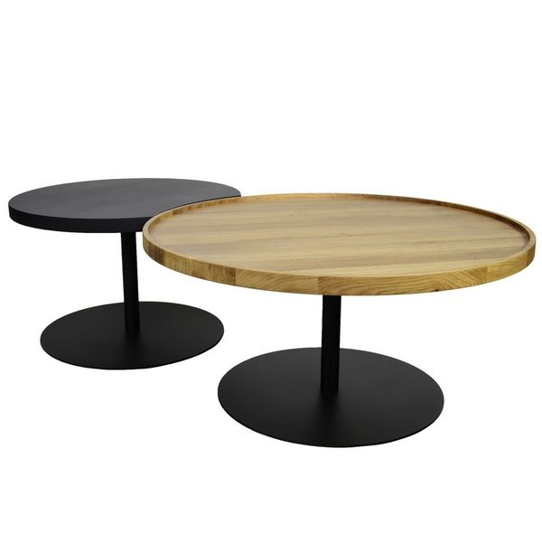 Double table basse design