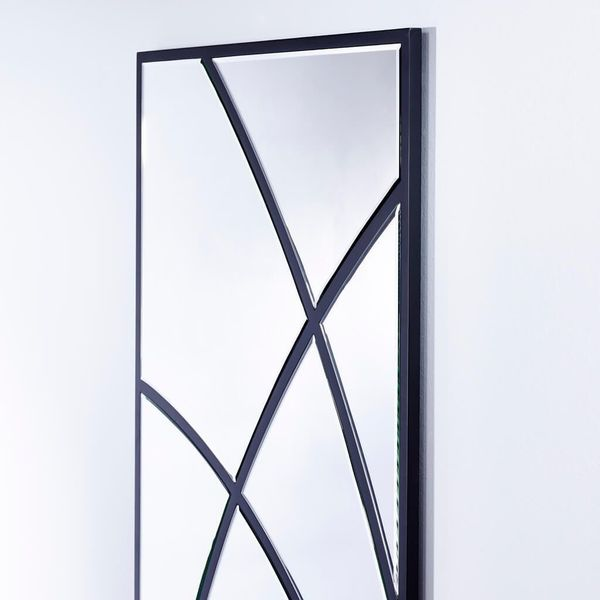 Miroir rectangle noir