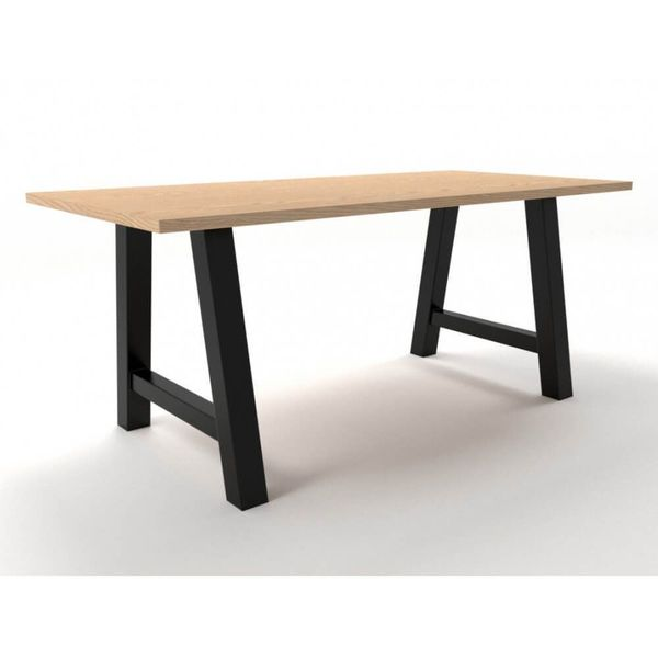 Grand table pied métal A