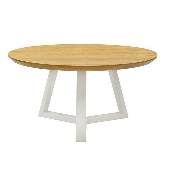 Table basse nordique ronde