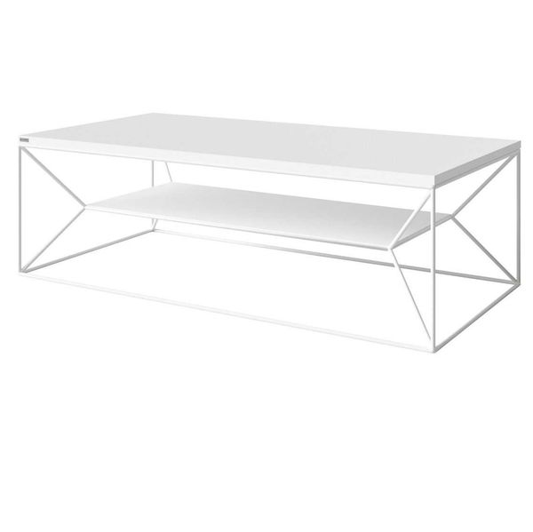 Table basse blanche Maxim