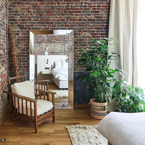 Grand miroir rectangle 1.92m