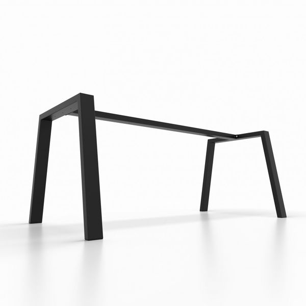Pied de table avec barre de support