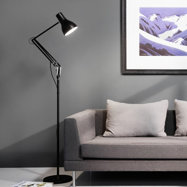 Lampadaire Anglepoise Type75